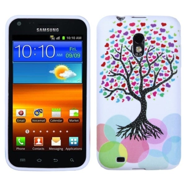 INSTEN Love Tree Candy Skin Phone Case Cover for Samsung D710 Epic 4G Touch