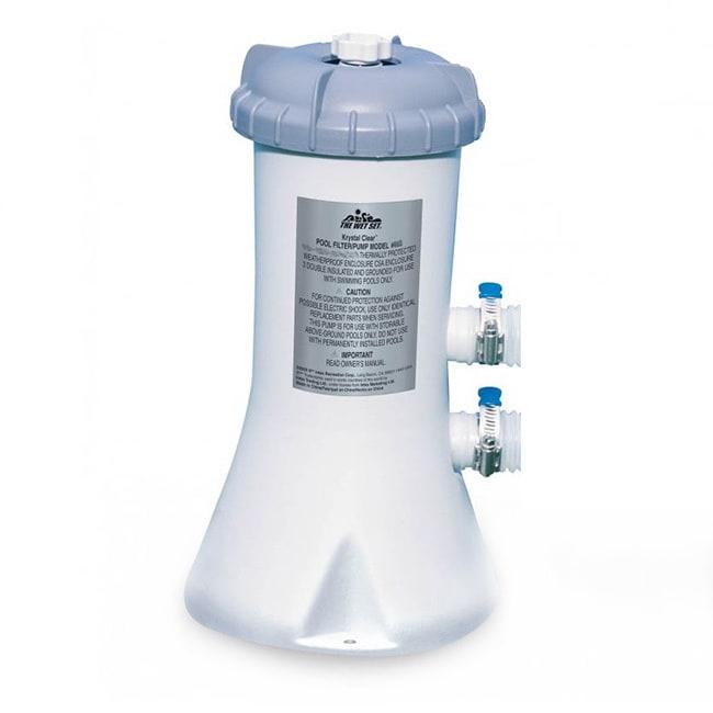 Intex Recreation 530 Gallons Filter Pump, White (Plastic)