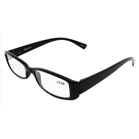 Black Mineral Unisex Reading Sunglasses