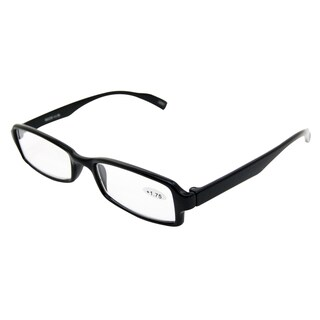 Noir Black Unisex Reading Glasses