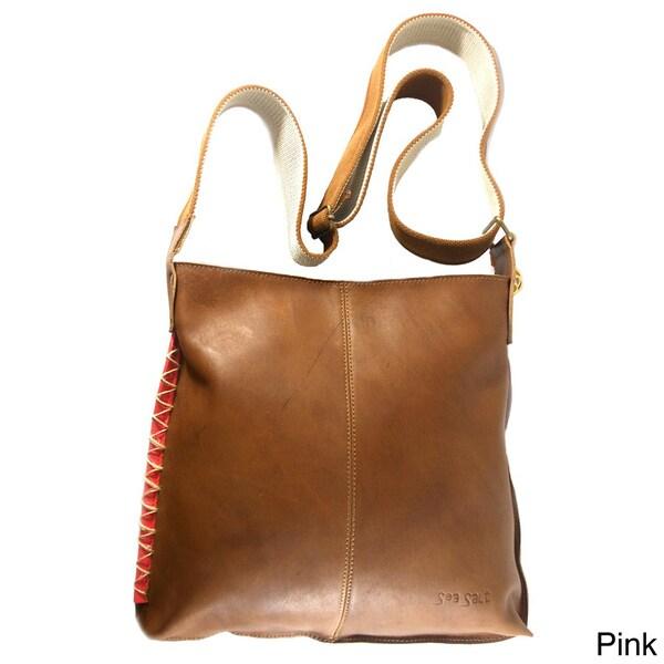 Claudia G. Genuine Leather Hippy Bag