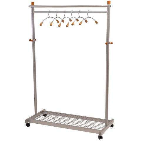 Alba Modern Mobile Garment Rack