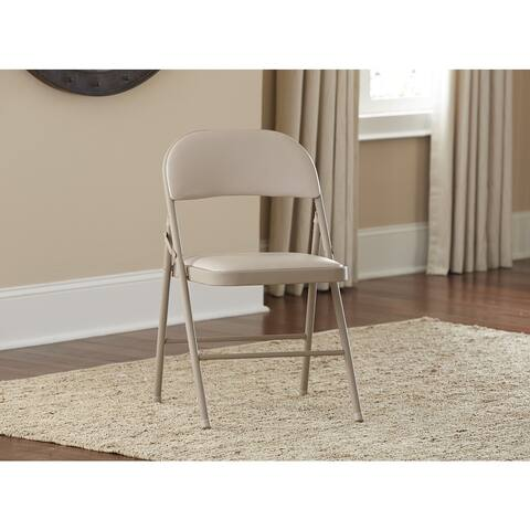 Cosco Vinyl Folding Chair (4 Pack or 2 Pack)