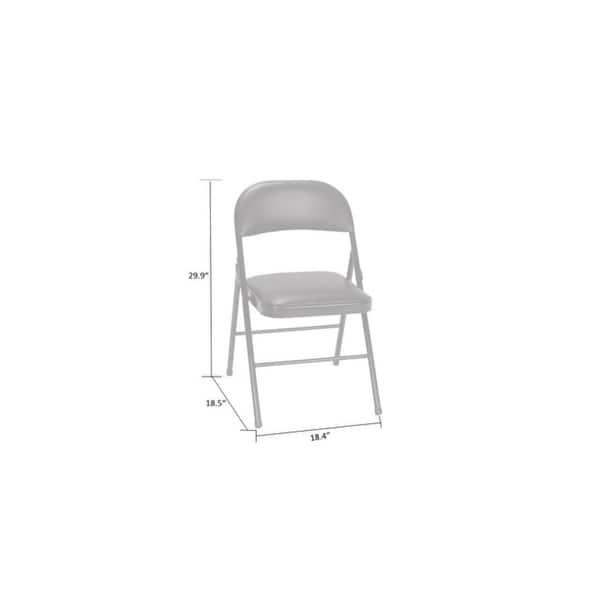 Fine Shop Cosco Vinyl Folding Chair 4 Pack Or 2 Pack Free Machost Co Dining Chair Design Ideas Machostcouk