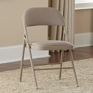Metal Folding Chairs For Less Overstock Com