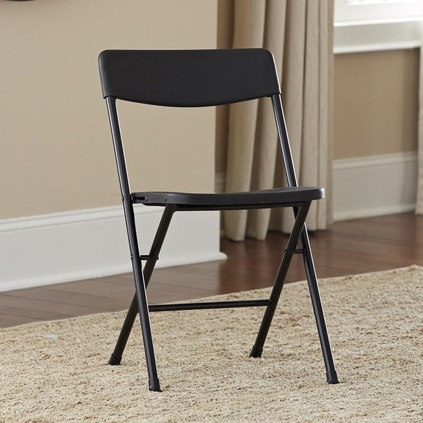 Shop Cosco Resin Folding Chairs (Set of 4) - Free Shipping Today ...