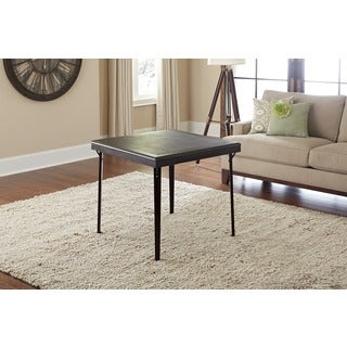 Cosco Folding Espresso Wood Table