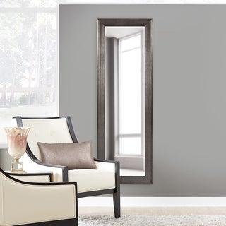 Maverick Tall Silver Full Length Wall Mirror