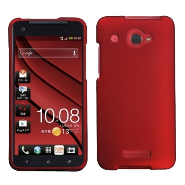 BasAcc Titanium Solid Red Case for HTC Droid DNA