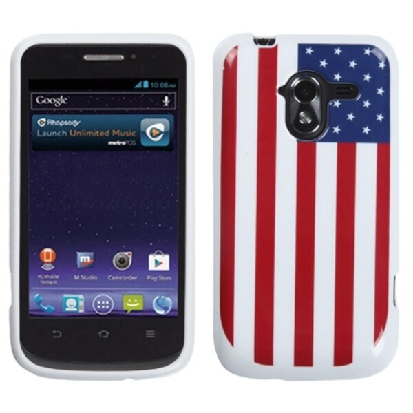 INSTEN United States Flag Candy Skin Cover for ZTE N9120 Avid 4G