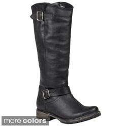 Steve Madden Women's 'Fairmont' Buckle Detail Boots