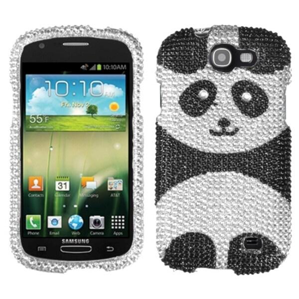 BasAcc Playful Panda Diamante Case for Samsung i437 Galaxy Express
