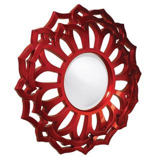Cassidy Sunflower Metallic Red Mirror