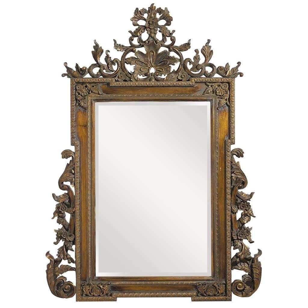 Shop Elizabeth Oversized Ornate Mirror Overstock 8015482