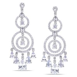 Miadora Signature Collection 10k White Gold White Sapphire Chandelier Earrings|https://ak1.ostkcdn.com/images/products/8015510/8015510/Miadora-10k-White-Gold-White-Sapphire-Chandelier-Earrings-P15379194.jpg?_ostk_perf_=percv&impolicy=medium