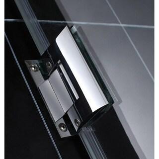 DreamLine UnidoorLux 30.375 x 72-inch Frameless Hinged Shower Enclosure