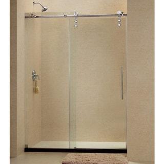 DreamLine Enigma-Z 44 to 48 in. Fully Frameless Sliding Shower Door