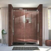 DreamLine Enigma-Z 56-60 in. W x 76 in. H Fully Frameless Sliding Shower Door