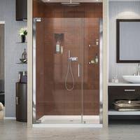 DreamLine Elegance 42 1/2 - 44 1/2 in. W x 72 in. H Frameless Pivot Shower Door - 44.5 in. w x 72 in. h