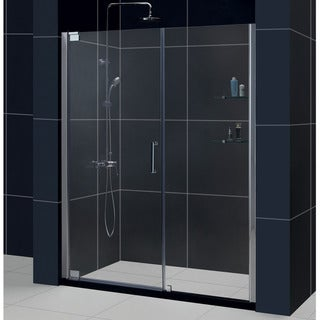 DreamLine Elegance 56.25 to 58.25-inch Frameless Pivot Shower Door