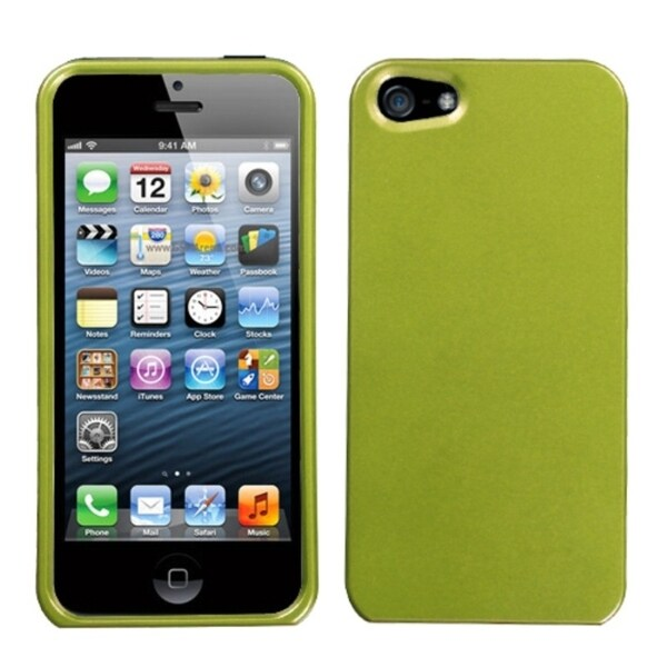 INSTEN Solid Olive Green Phone Protector Case for Apple iPhone 5/ 5S/ SE