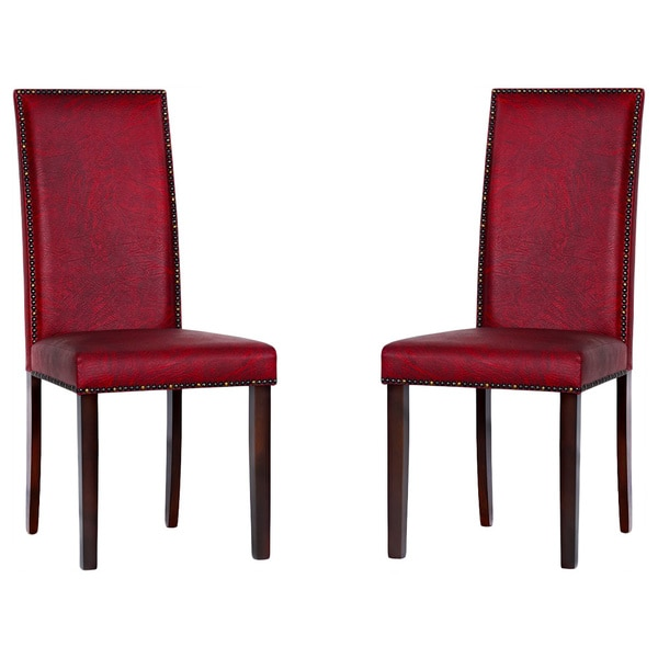 warehouse of tiffany 39 blaze 39 black red dining room chairs free