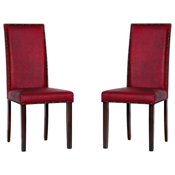 Red Dining Room Furniture: Shop Warehouse Of Tiffany 'Blaze' Black/ Red Dining Room