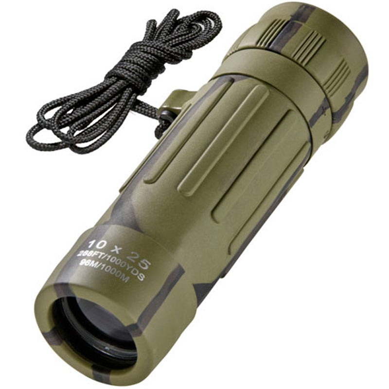 10x25 Lucid View Camouflage Monocular thumbnail
