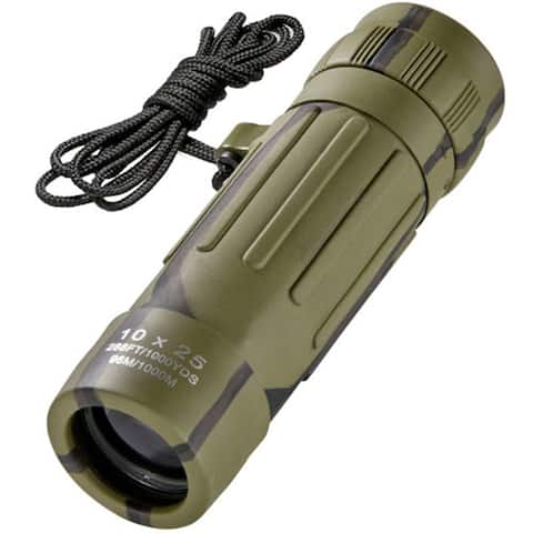 10x25 Lucid View Camouflage Monocular
