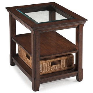 Tanner Wood Rectangular End Table
