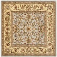 Safavieh Lyndhurst Traditional Oriental Grey/ Beige Rug - 5' Square