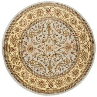 Safavieh Lyndhurst Traditional Oriental Grey/ Beige Rug (8' Round)