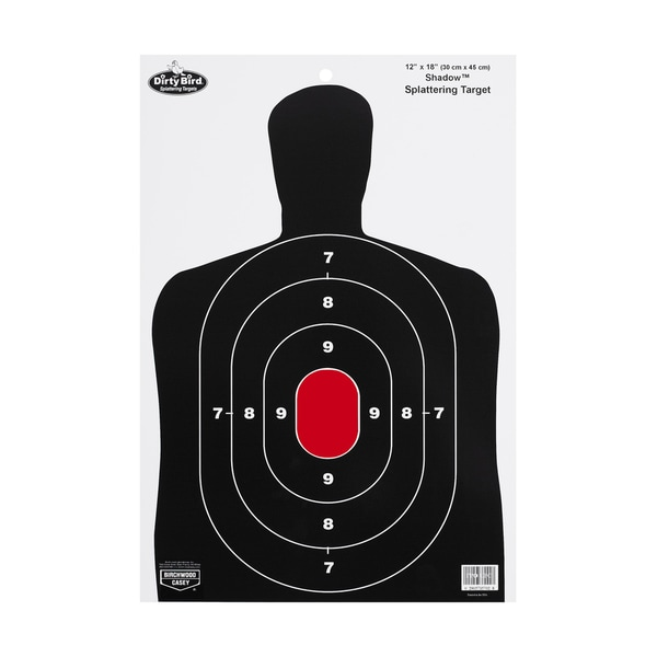 Birchwood Casey Dirty Bird BC27 Shadow 12x18 Inch Target