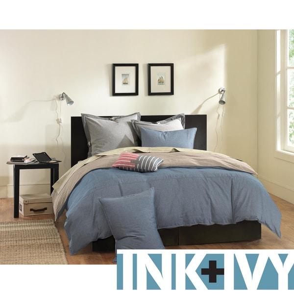 Ink+Ivy Reece 3-piece Mini Duvet Cover Set
