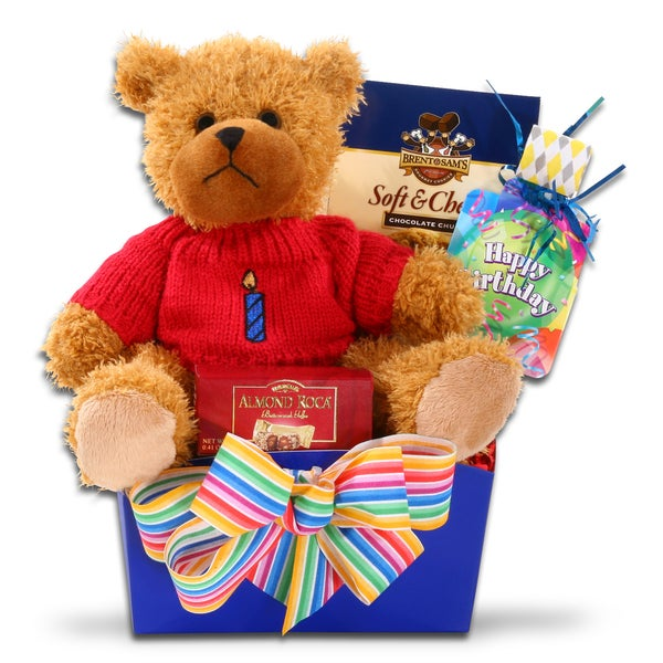 Shop Alder Creek Happy Birthday Gift Basket