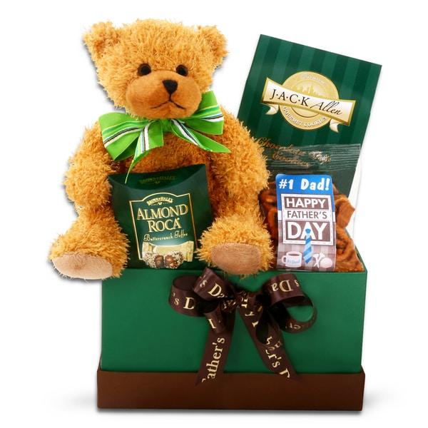 Alder Creek Bear Hugs for Dad Gift Basket