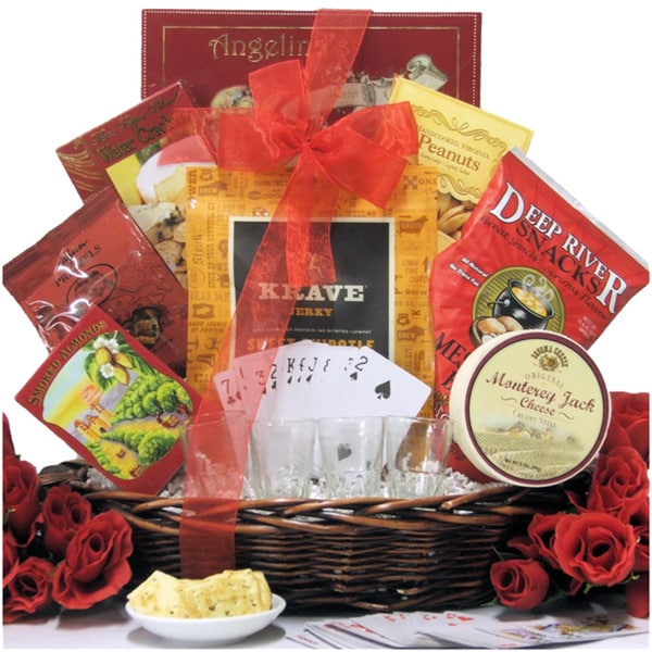 Man Cave Gifts Free Shipping : The man cave gourmet gift basket free shipping today