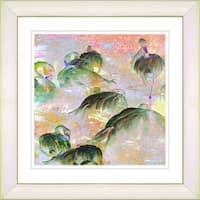 Studio Works Modern 'Morning Time' Framed Art Print