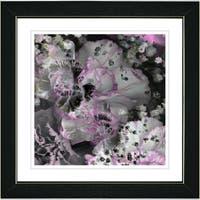 Studio Works Modern 'Royal Carnations - Cream' Framed Art Print