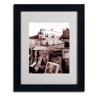 Kathy Yates 'Montmartre 2' Framed Mattted Art