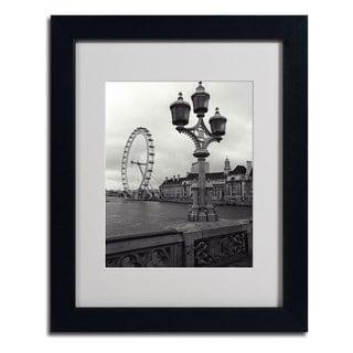 Kathy Yates 'London Eye' Framed Mattted Art