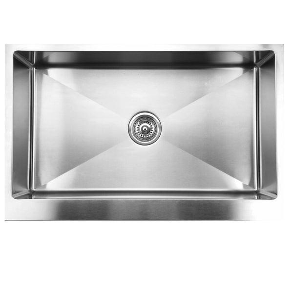 Ukinox RSFS840 Apron Front Single Basin Stainless Steel Undermount Kitchen Sink