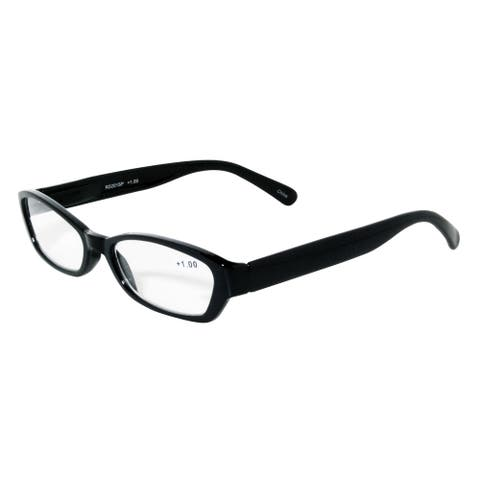 Noir Black Modern Reading Glasses