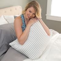 Old Fashion Style Granny Ticking Stripe Goose Down/ Feather Pillow