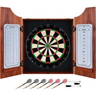 Trademark Games Beveled Wood Dart Cabinet Pro Style Board|https://ak1.ostkcdn.com/images/products/8019267/P15382357.jpg?impolicy=medium