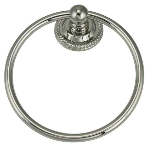 Jado 818 Series Platinum Nickel Towel Ring