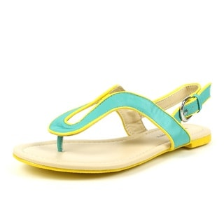 5308906f6ae0 Mark   Maddux Women s  CONI-03  Mint 2-tone Color Block Flat