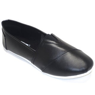 Blue Women's 'Timmy' Black Flats