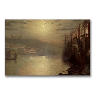 John Grimshaw 'Whitby' Canvas Art