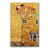 Gustav Klimt 'Fulfillment' Canvas Giclee Art